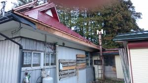 屋根の改修工事